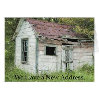 アドレス変更: 素晴らしい位置 カード