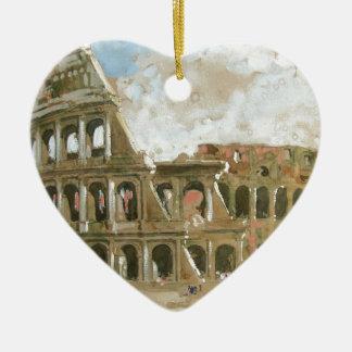 アナのやしによるColosseumのbeautyful絵画 セラミックオーナメント