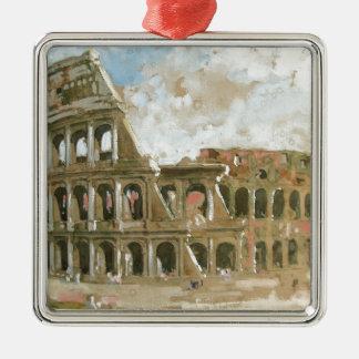 アナのやしによるColosseumのbeautyful絵画 メタルオーナメント