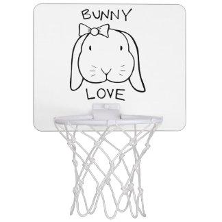 アナのバニーのバスケットボールのゴール ミニバスケットボールネット