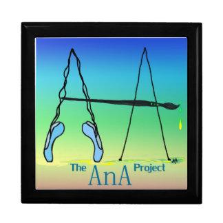 アナのプロジェクトを支えて下さい ギフトボックス