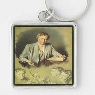 アナエレノア・ルーズベルト最初女性 キーホルダー