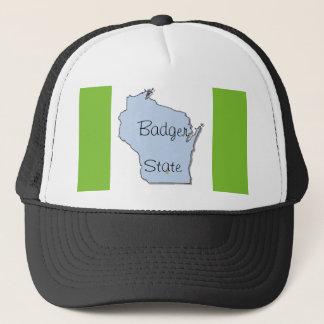 アナグマの州の帽子の_ウィスコンシン キャップ