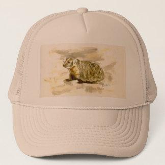 アナグマの帽子 キャップ
