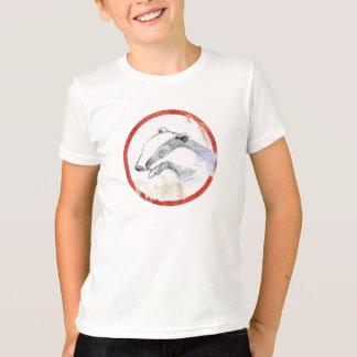 アナグマはTシャツをからかいます Tシャツ