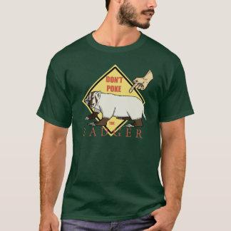 アナグマを突かないで下さい! Tシャツ