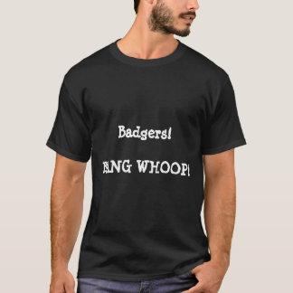アナグマ! 強打の叫び声! Tシャツ
