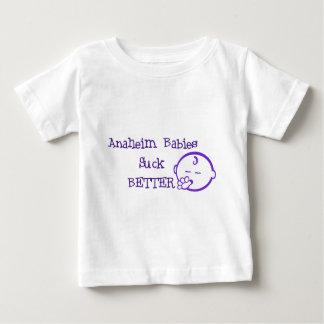 アナハイムのベビーはよりよく吸います ベビーTシャツ