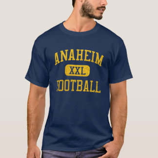 アナハイムの植民者のフットボール Tシャツ
