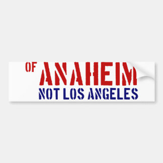 アナハイム(ないロサンゼルス)の- OCのあなたのプライドを示して下さい バンパーステッカー