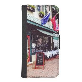 アナポリスMD -州の円のレストラン iPhoneSE/5/5sウォレットケース