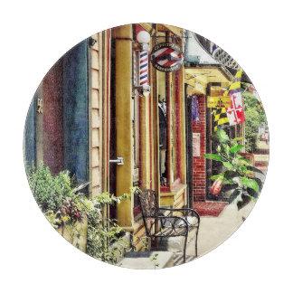 アナポリスMD -理髪店および霊気のスタジオ カッティングボード