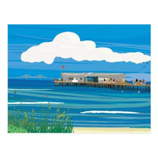 アナマリアの島都市桟橋 ポストカード