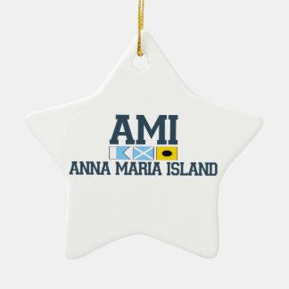 アナマリアの島-学校代表の設計 セラミックオーナメント