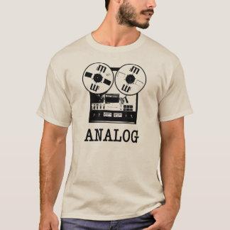 アナログのテープリール Tシャツ