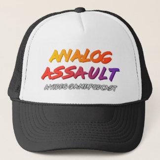 アナログ攻撃のトラック運転手の帽子 キャップ