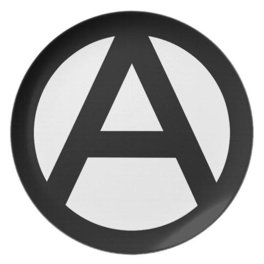 アナーキー anarchy  PUNK 無政府主義 パンク プレート
