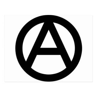 アナーキー anarchy  PUNK 無政府主義 パンク ポストカード