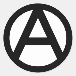 アナーキー anarchy  PUNK 無政府主義 パンク ラウンドシール