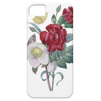 アネモネおよびカーネーションの花束 iPhone SE/5/5s ケース