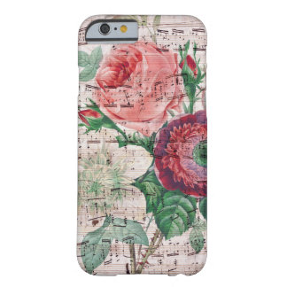 アネモネおよび音楽 BARELY THERE iPhone 6 ケース