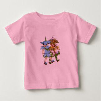 アネモネおよびBluets ベビーTシャツ