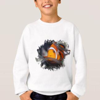 アネモネのピエロ魚 スウェットシャツ