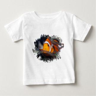 アネモネのピエロ魚 ベビーTシャツ