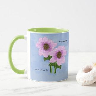 アネモネのマグ マグカップ