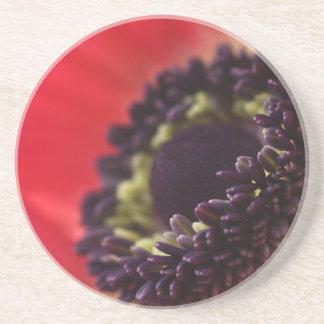 アネモネの花のコースター コースター