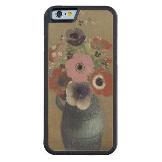 アネモネの花束 CarvedメープルiPhone 6バンパーケース
