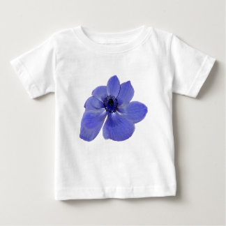 アネモネの青の花 ベビーTシャツ
