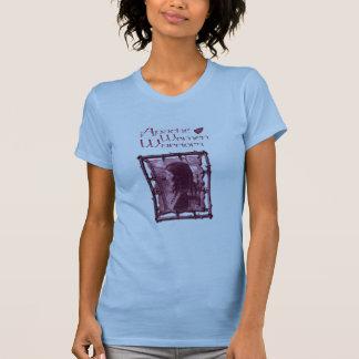 アパッシュの女性の戦士のTシャツ Tシャツ