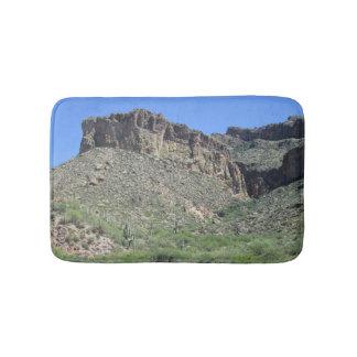 アパッシュの岩が多い道 バスマット