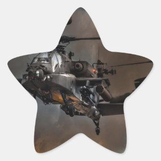 アパッシュの嵐 星シール