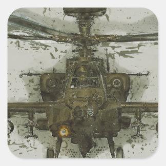 アパッシュの攻撃用ヘリコプター スクエアシール