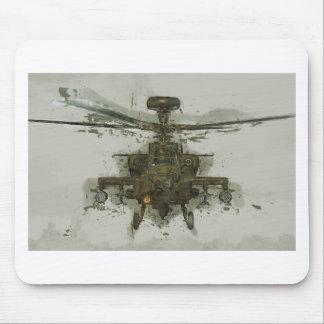 アパッシュの攻撃用ヘリコプター マウスパッド
