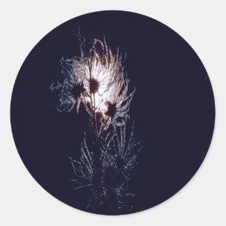 アパッシュ羽毛 ラウンドシール