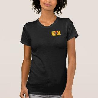 アパッシュDelリオの女性の暗いワイシャツ Tシャツ