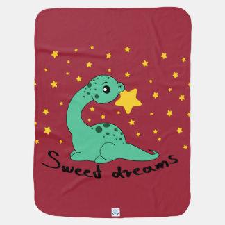 アパトサウルスの甘美な夢 ベビー ブランケット
