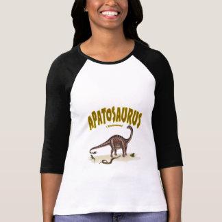 アパトサウルス(brontosaurus) tシャツ