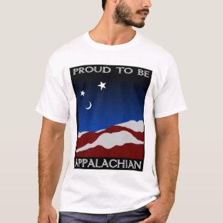 アパラチア山脈があること誇りを持った Tシャツ