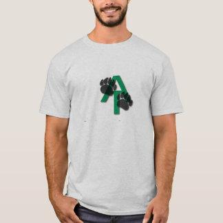 アパラチア山脈くまのプリントのワイシャツ Tシャツ