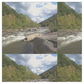 アパラチア山脈の川 ファブリック