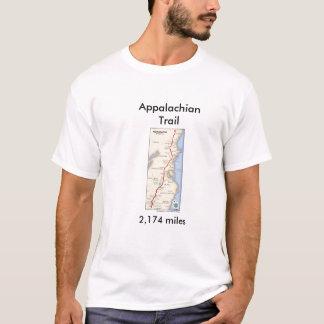 アパラチア山脈の道のワイシャツ Tシャツ