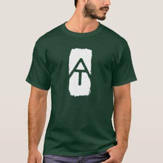 アパラチア山脈の道の炎のTシャツ Tシャツ
