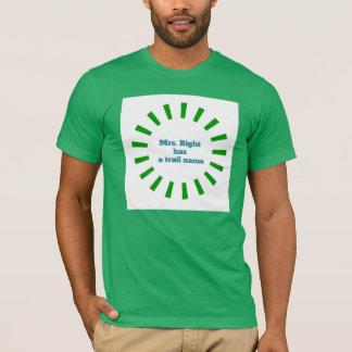 アパラチア山脈の道のTシャツ-夫人Right Tシャツ