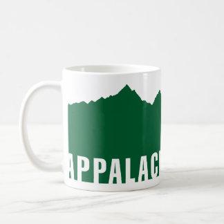アパラチア山脈の道(高度) コーヒーマグカップ