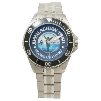 (アパラチア山脈の道) 2つのハイキング 腕時計
