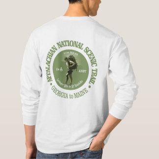 アパラチア山脈の道(o) tシャツ